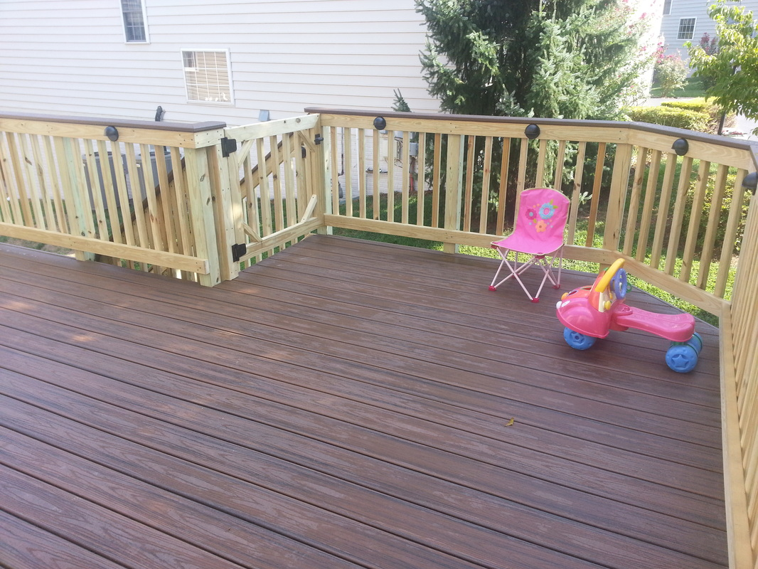 Image Result For How To Build A Composite Deck